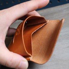 画像9: 10カラー/名刺入れ/カードケース/国産ヌメ革  (9)