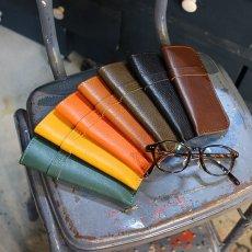 画像1: 7カラーイタリアンレザー/スリム型老眼鏡ケース (1)